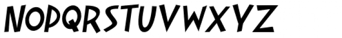 Gaspa Italic Font UPPERCASE