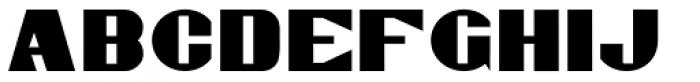 Gaspardo Expanded Font UPPERCASE