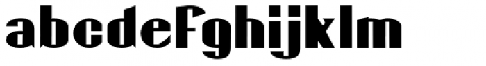 Gaspardo Expanded Font LOWERCASE