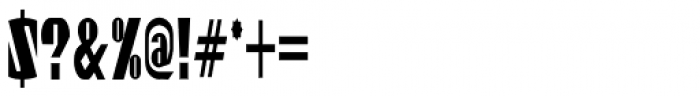 Gaspardo Super Condensed Font OTHER CHARS