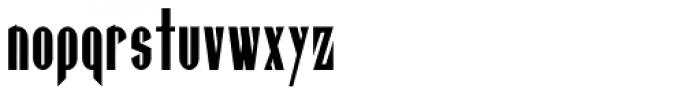Gaspardo Super Condensed Font LOWERCASE