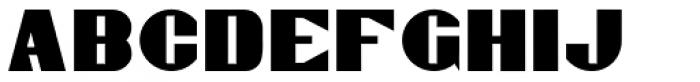 Gaspardo Font UPPERCASE
