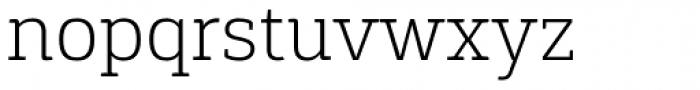 Gaspo Slab Extra Light Font LOWERCASE