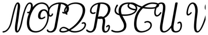 Gaston Contrasted Bold Italic Font UPPERCASE