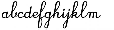 Gaston Contrasted Bold Italic Font LOWERCASE