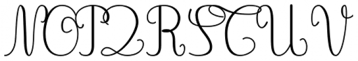 Gaston Contrasted Light Font UPPERCASE