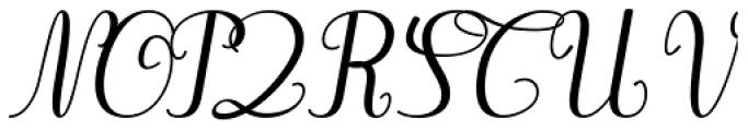 Gaston Contrasted Medium Italic Font UPPERCASE