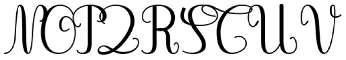 Gaston Contrasted Medium Font UPPERCASE