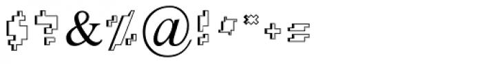 Gat Hollow MF Regular Font OTHER CHARS