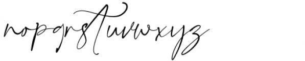 Gatha Script Font LOWERCASE