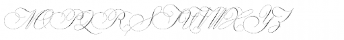Gatlik Saphir Regular Font UPPERCASE