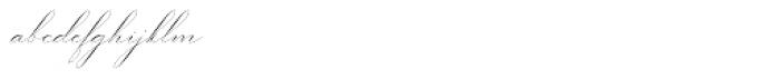 Gatlik Saphir Regular Font LOWERCASE