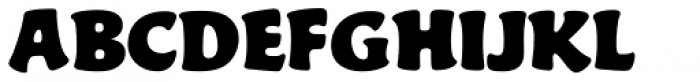 Gator Font UPPERCASE