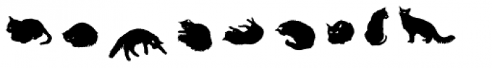 Gattofont Font OTHER CHARS