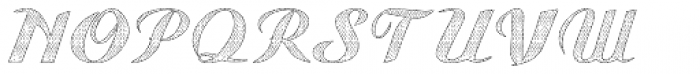 Gauche Display Old Lace Font UPPERCASE