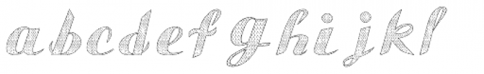 Gauche Display Old Lace Font LOWERCASE