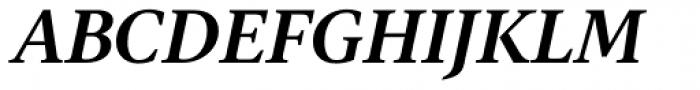Gauthier FY Bold Italic Font UPPERCASE
