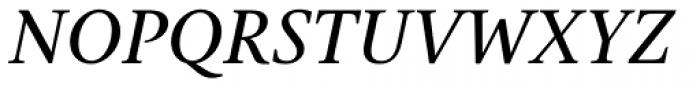 Gauthier FY Medium Italic Font UPPERCASE