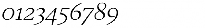 Gauthier Next FY Italic Font OTHER CHARS