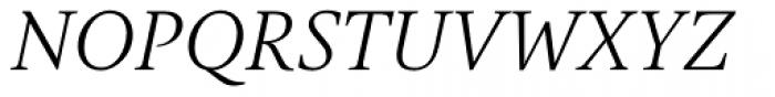 Gauthier Next FY Italic Font UPPERCASE