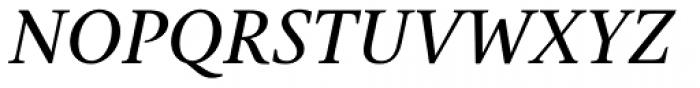 Gauthier Next FY Medium Italic Font UPPERCASE
