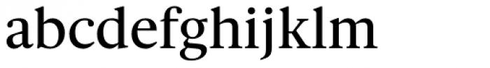 Gauthier Next FY Medium Font LOWERCASE