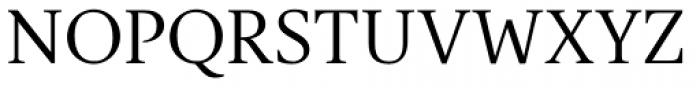 Gauthier Next FY Regular Font UPPERCASE