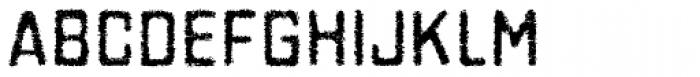 Gaz Grease Font UPPERCASE