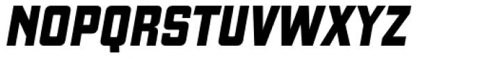 Gaz Heavy Italic Font UPPERCASE