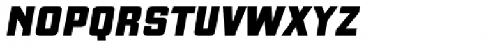 Gaz Heavy Italic Font LOWERCASE