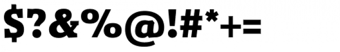 Gazeta Slab Extra Bold Font OTHER CHARS