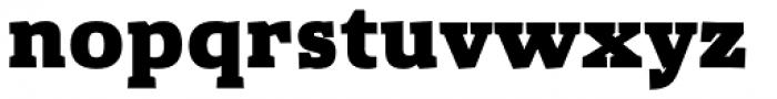 Gazeta Slab Extra Bold Font LOWERCASE