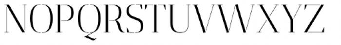 Gazeta Stencil Ds Light Font UPPERCASE