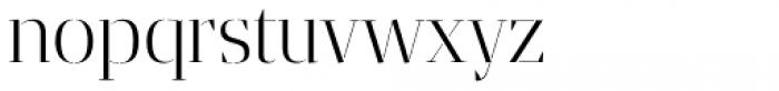 Gazeta Stencil Ds Light Font LOWERCASE