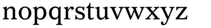Gazette Roman Font LOWERCASE