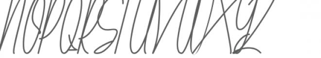 Galliyani Font UPPERCASE