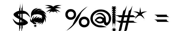 GDS Infinity Font OTHER CHARS