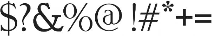 GELLATO otf (400) Font OTHER CHARS