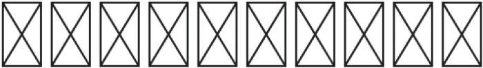 GEO IND SANS Regular otf (400) Font OTHER CHARS