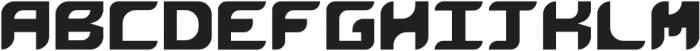 GEO IND SANS Regular otf (400) Font LOWERCASE