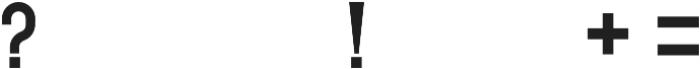 GERONIMO BASE ttf (400) Font OTHER CHARS