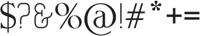 GERTRUDA otf (400) Font OTHER CHARS