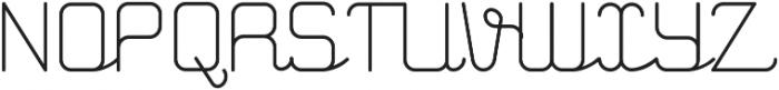GERTRUDA otf (400) Font UPPERCASE