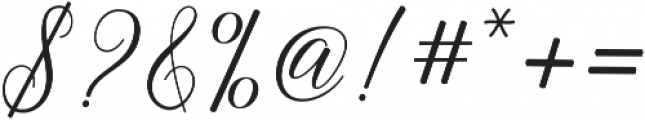 Gebrina otf (400) Font OTHER CHARS