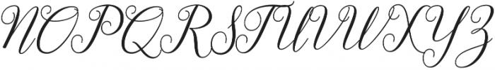 Gebrina otf (400) Font UPPERCASE