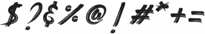 Gebrush Sweger ttf (400) Font OTHER CHARS