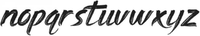 Gebrush Sweger ttf (400) Font LOWERCASE