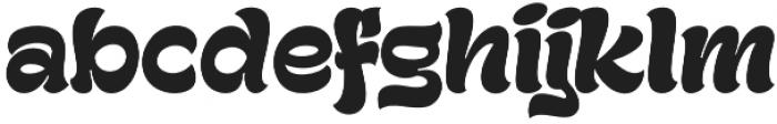 Gecko otf (400) Font LOWERCASE