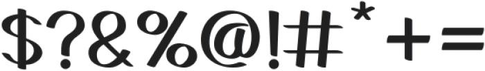 Gedrick otf (400) Font OTHER CHARS