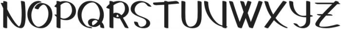 Gedrick otf (400) Font UPPERCASE